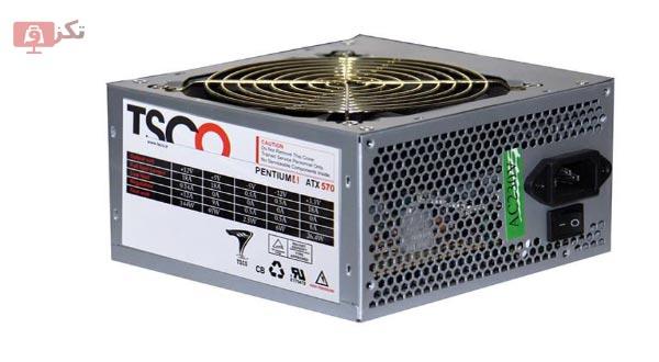 منبع تغذیه کامپیوتر تسکو TP 570W