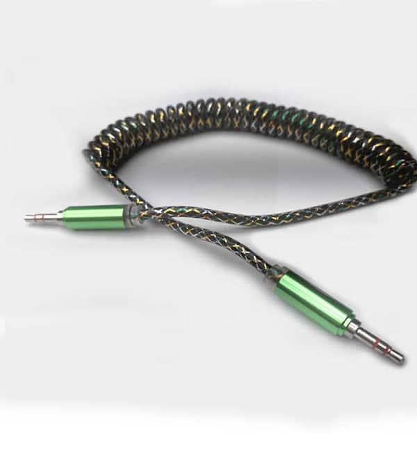 کابل aux فنری فلزی برند اسکار مدل C312